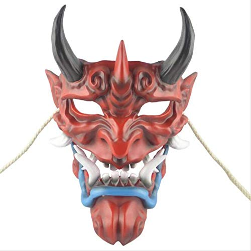 ZAZCB Spiel Toy Grinning Devil Doll Spielzeug Devillike Advanced Resin Mask Halloween (Devil Doll Kostüm)