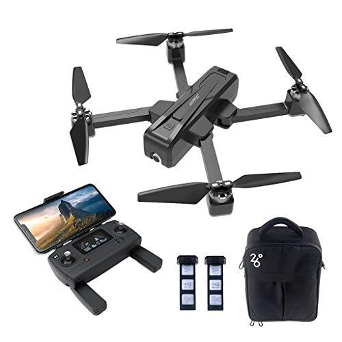 Faltbar Drohne +Aufbewahrungstasche mit Kamera 2K HD mit 110°Weitwinkel ,5G FPV RC Quadrocopter Drohne Kinder mit One Key Start/Landung,Headless Modus,Pocket Drohne für Anfänge (Zwei Batterien) Pocket Navigator Video