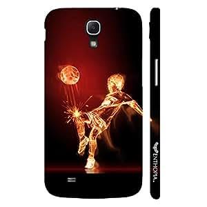 Samsung Mega 6.3 i9200 Football on Fire designer mobile hard shell case by Enthopia