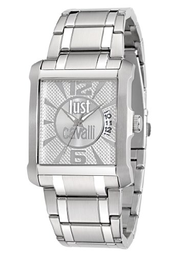 Just Cavalli Men's Quartz Watch R7253119001 with Metal Strap