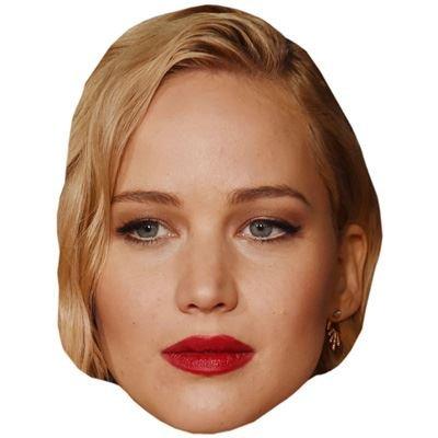 Jennifer Lawrence Maske aus (Raven Maske)