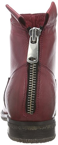 Inuovo CALISTA Kurzschaft Stiefel Rot (Bordeaux)