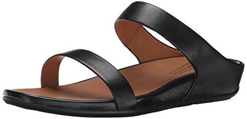 Fitflop Women's Banda Slide Sandal, Black, 1