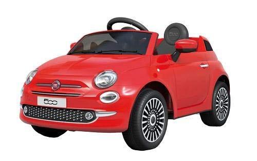 Motoor Kids Coche eléctrico para niños Fiat 500 con Mando Radio Control y batería 6V (Rojo, Blanco y Rosa) - Juguetoon (Rosa)