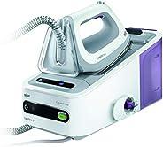 Braun Carestyle5 - Centro de planchado, 2400 w, suela bidireccional eloxal 3d, golpe de vapor 340 g/min, siste