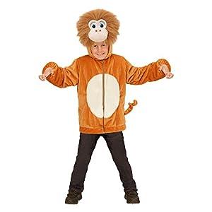 WIDMANN?Disfraz para niños Mono de Peluche, Chaqueta con Capucha y máscara