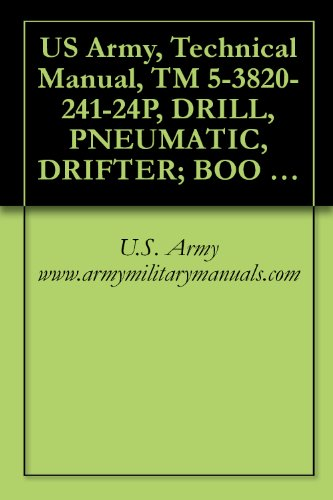 US Army, Technical Manual, TM 5-3820-241-24P, DRILL, PNEUMATIC, DRIFTER; BOO CRAWLER-MOUNTED; SELF-PROPELLED (JOY MODEL RAM-MS-5/450A-DR) (NSN 3820-00-445-3766), military manauals (English Edition)