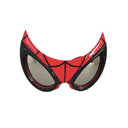 Rocco Spielzeug mv15383-Spiderman-Sonnenbrille, Rot, Einheitsgröße