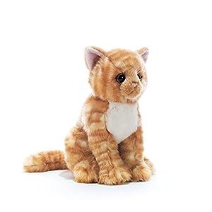 Plush-15863-Peluche de Gato atigrado-Animal de Peluche 26 cm, diseño de Gato
