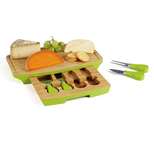 Queso set 5 piezas queso tabla queso cubiertos cuchillo for Set cuchillos villeroy boch tabla