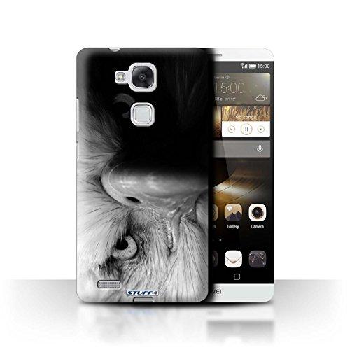 Stuff4® Hülle/Hülle für Huawei Ascend Mate7 / Adler/Raubvogel Muster/Zoo-Tiere Kollektion