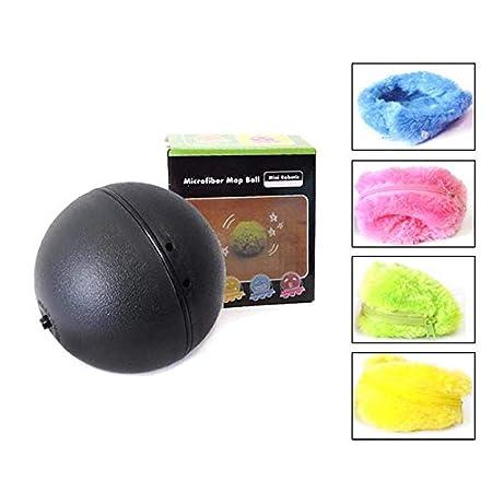 Chidi Toy Magic Roller Ball, 2-in-1-Funktion Pet Electric Toy Ball mit 4 Wolle Abdeckung für Hund Katze Pet, Pet Lernspielzeug Pet Magic Ball