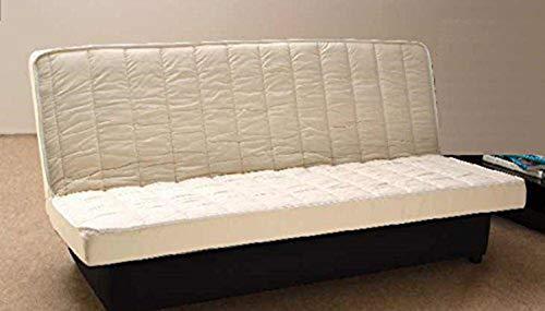 King of Dreams Matelas Clic Clac 140x190 Mousse Poli Lattex Indéformable Tissu Strech très résistant - Hauteur 10 cm - Soutien Très Ferme TECHNO10