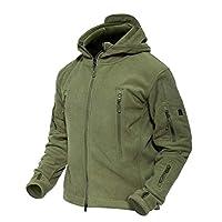 MAGCOMSEN Men 's Warm Jacket Military Jacket Army Jacket Hunting Hiking Jacket Tactical Fleece Jacket