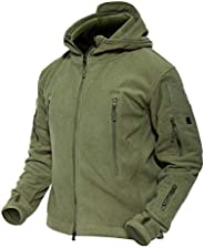 MAGCOMSEN Men 's Windproof Warm Military Tactical Fleece Jacket with