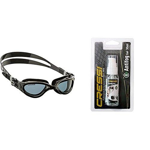 Cressi Flash - Premium Erwachsene Schwimmbrille mit Antibeschlag und 100% UV Schutz + Anti Fog für Taucherbrille