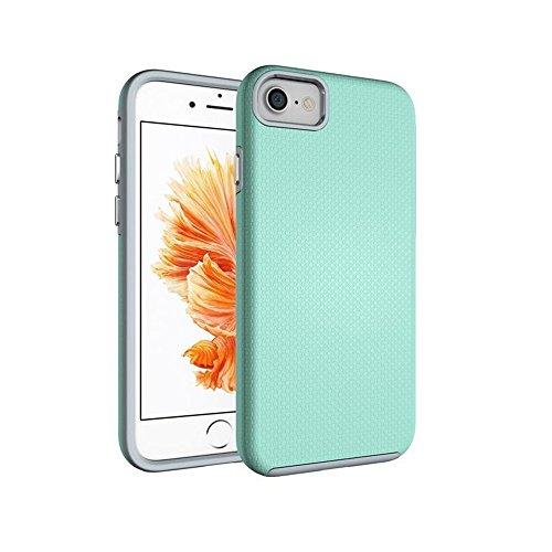 Iphone 7 / iPhone 8 Coque, Élégant Étui Housse Protection Shell Case Couverture Hybride Téléphone Capa Cas Pour Apple iPhone 7 Vert