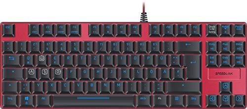 Speedlink Mechanische Gamer Tastatur für PC / Computer - Ultor Gaming Keyboard USB (Generalüberholt) (Video-editor Tastatur)