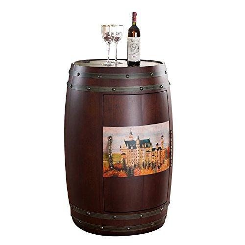 Espresso-wein-cabinet (Stg Eichenfass Wein Temperatur Wein Schrank rot Eichenfässern Massivholz Electronic Kühlschränke Home Ice Bar mlg198–18C)