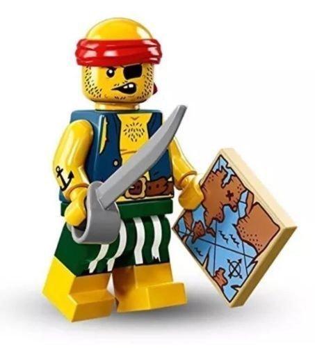 Lego Minifiguren Serie 16 - OSEL PIRAT Minifigur In säcken) 71013 (16 Serie)