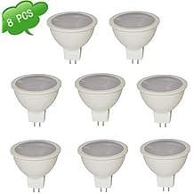 Luces Dirigidas (Blanco cálido GU5.3 - en MR16 - 7 W 560 lm- DC 12/AC 12 ( Color de Luz : Blanco Frío )