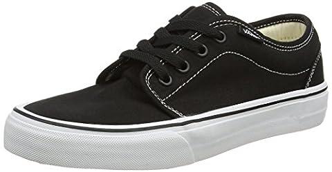 Vans U 106 Vulcanized, Baskets mode mixte adulte - Noir (Black/White) 38 EU , 5 UK , 6 US