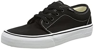 Vans Vulcanized, Unisex-Adults' Trainers, Black/White, 2.5 UK