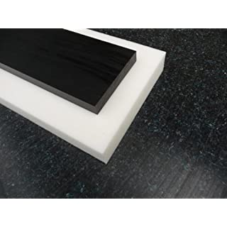 Plate POM C nature (white), 500 x 100 x 12 mm Sheet Acetal white alt-intech®