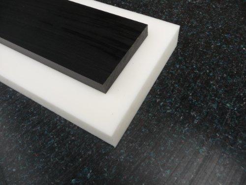 Preisvergleich Produktbild Platte aus POM,  500 x 245 x 2 mm schwarz Zuschnitt alt-intech®