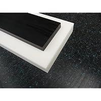 Platte aus POM, 500 x 100 x 10 mm natur (weiß) Zuschnitt alt-intech®