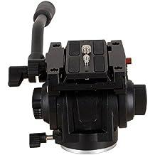 Vídeo Mini Cabeza Fluida Pro para Manfrotto Trípode 701HDV 501PL QR Placa Negro