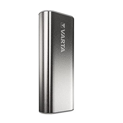 Varta Powerbank 5200mAh portable Powerpack – Externer Akku mit Lade- und Entladeanzeige optimal für Smartphones, MP3 Player, Tablets und Wearables – Power Bank inklusive 50cm Micro–USB Kabel –