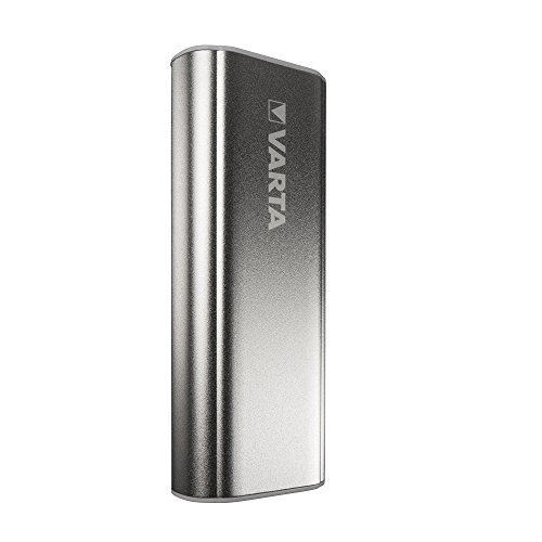 Varta Powerbank 5200 mAh portable Powerpack Externer Akku (mit Lade- und Entladeanzeige optimal für Smartphones, MP3 Player, Tablets und Wearables 0 - Power Bank inklusive 50cm Micro–USB Kabel) silber (Ultra Tv Lg Sound Bar)