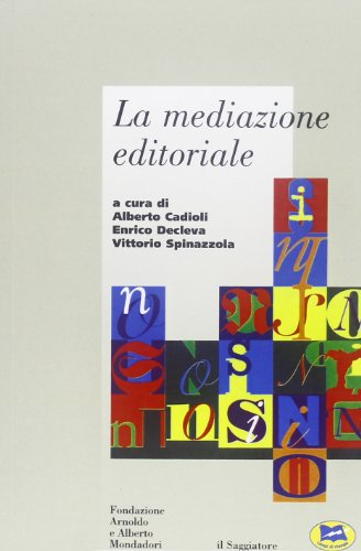 Zoom IMG-2 la mediazione editoriale