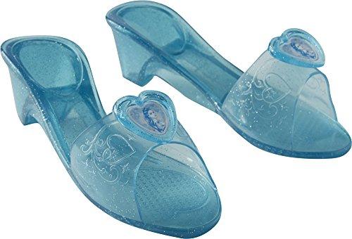 Cinderella, Schuhe für Mädchen, Größe M, Blau (Rubie 's 32531) ()