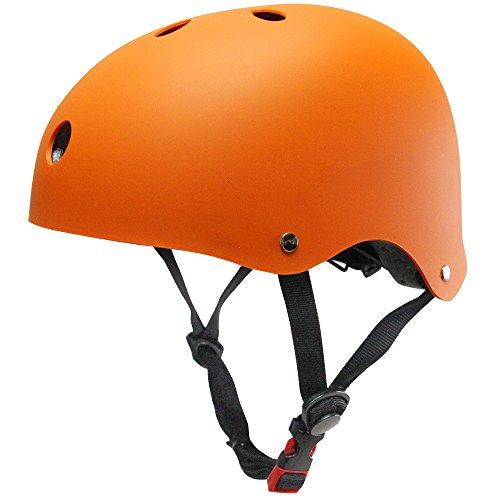 Kinder Skateboarder Helm Fahrradhelm Integralhelm Rollerhelm für Radfahrer Skateboard Scooter Bike Sicherheit Helm