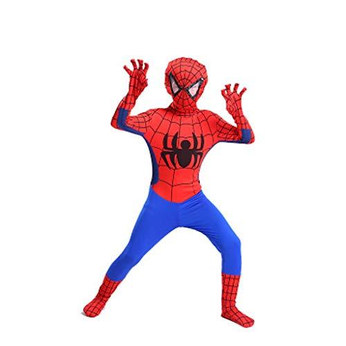 YUNMO Spider-Man-Kostüm für Kinder Spider-Man-Kostüm Kostüm (größe : 110)