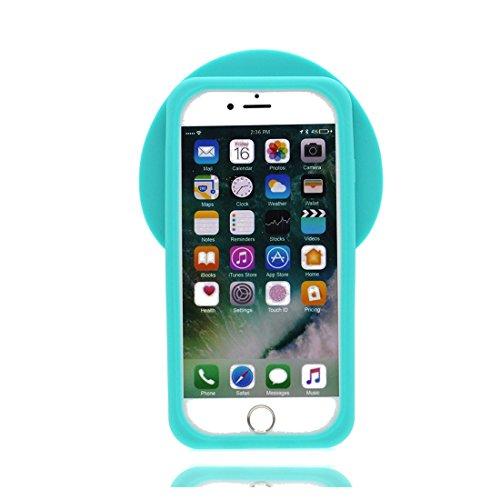 iPhone 7 Plus Copertura,iPhone 7 Plus Custodia,3D Cartoon anatra Pelle morbida in gomma siliconica per la copertura posteriore della copertina Case cover per iPhone 7 Plus 5.5inch ## 1