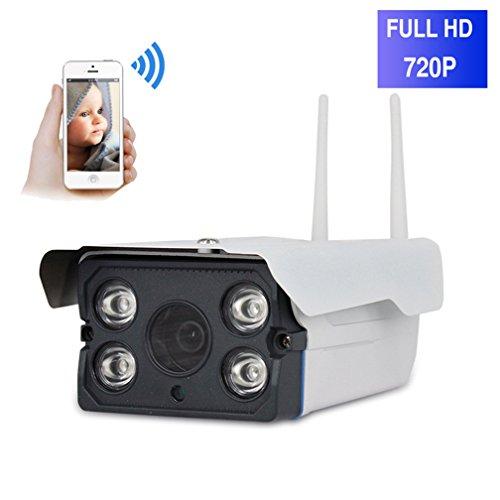 ShengyaoHul 720P HD Outdoor Caméra De Surveillance Ip, 1 Mp Système De Sécurité Ip Home Camera / Vision Nocturne Infrarouge / Détection De Mouvement / Capture D'Image Caméras De Surveillance