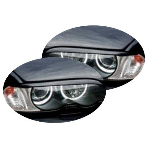 Preisvergleich Produktbild Akhan SBLE462 - Scheinwerferblenden Set Böser Blick