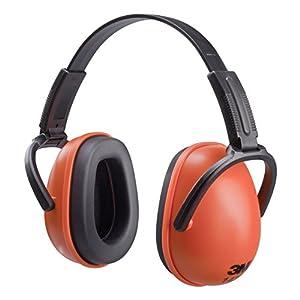 41UXqpCgcaL. SS300  - 3M 1436EAR Auriculares de protección básica, Rojo