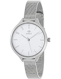Marea B41232/1 Reloj Mujer de color plateado y con la pantalla en blanco