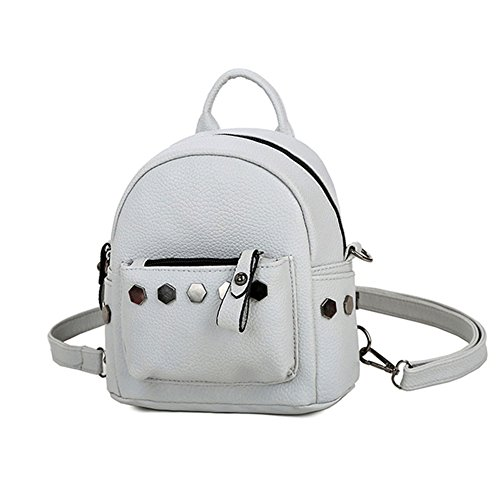 5295c2ab3ff Espeedy Mini Rivet Backpack For Women Girl PU Leather Women Backpack  Fashion School Bag 3 colors