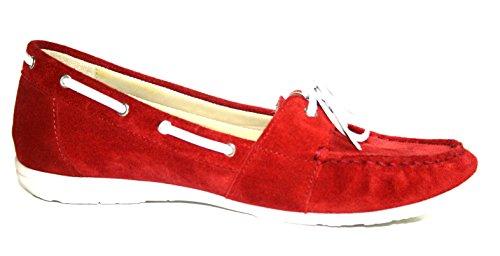 Fortuna , Mocassins pour femme Rouge Rouge Rouge - Rouge