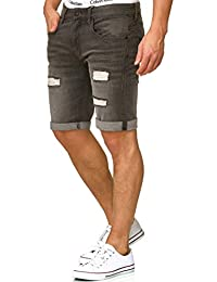 Indicode Homme Chino Bermuda Denim Shorts Caden
