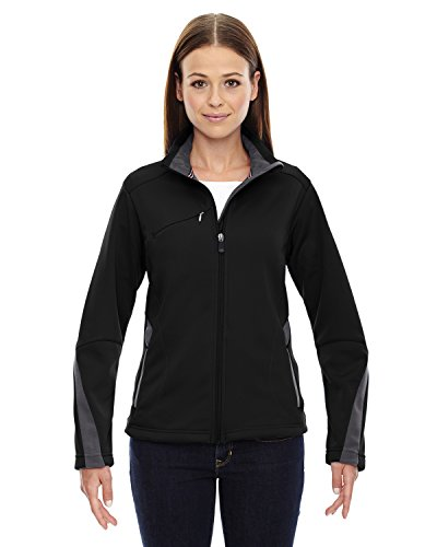 Xx Bonded Fleece (North End Escape Damen Bonded Fleece Jacke. 78649 Gr. XX-Large, BLACK 703)