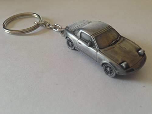 Price comparison product image Mazda MX5 with hard top and raised head lamps 3D split-ring keyring FULL CAR ref124