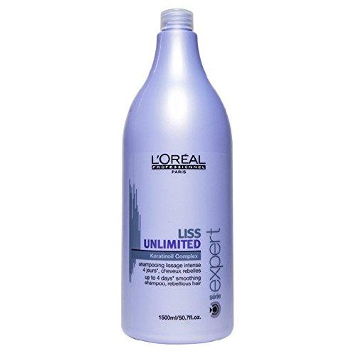 L'oreal Serie Expert - Soin Du Cheveu - Shampooing Liss Unlimited 1500 mL