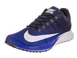 Nike Herren Air Zoom Elite 9 Laufschuhe, Mehrfarbig (Hyper Royal/White-Ne 406), 45.5 EU