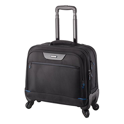 Lightpak Laptop Rollkoffer Business Trolley Star, Nylon, 42.57 Liters Schwarz